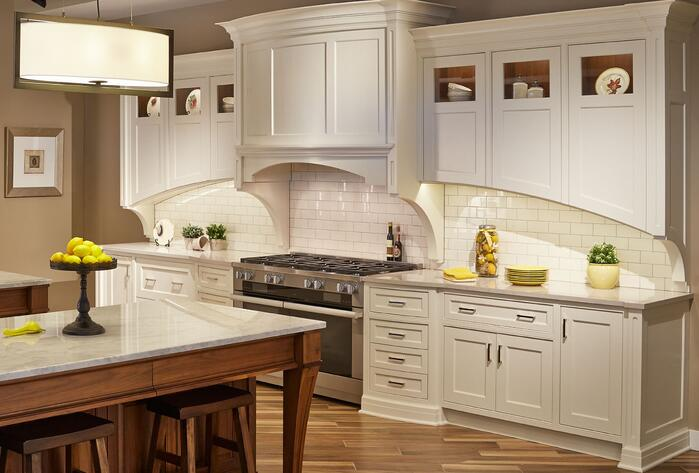 Kitchen with Face-Frame Cabinetry