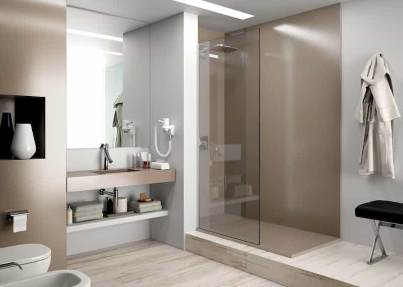 Quartz shower