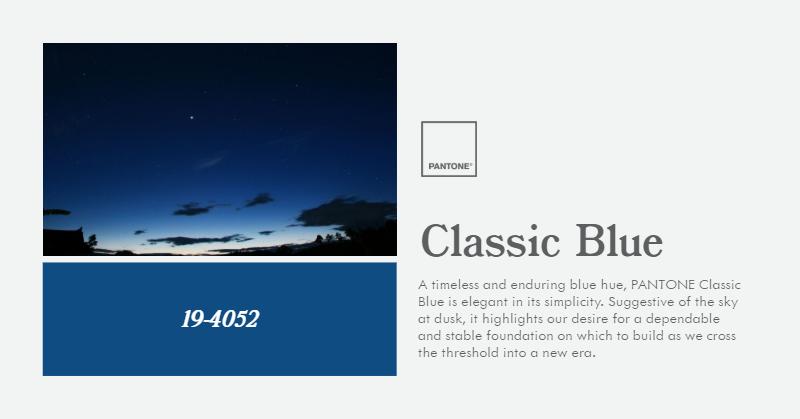 Pantone 2020 COTY - Classic Blue (1)