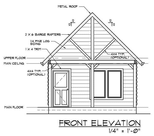 Free Backyard Cottage Plans