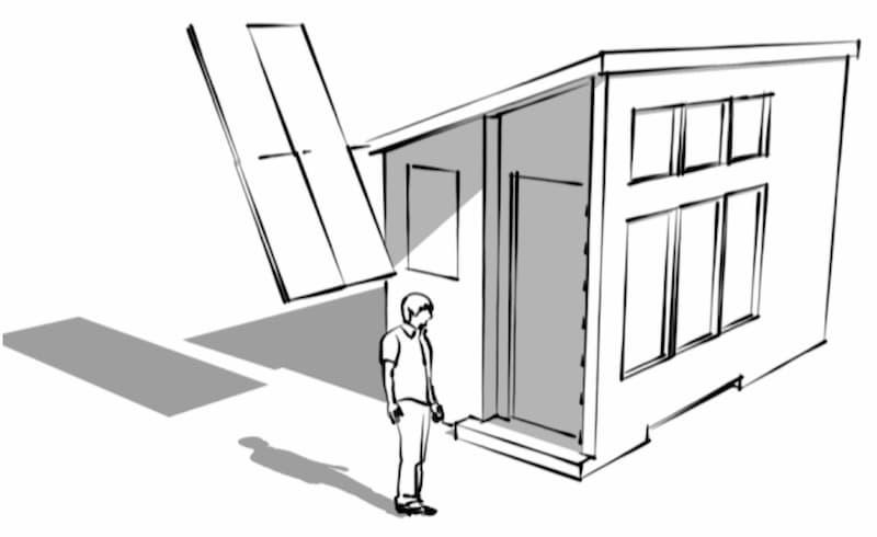 tiny-solar-house-photovoltaic-array