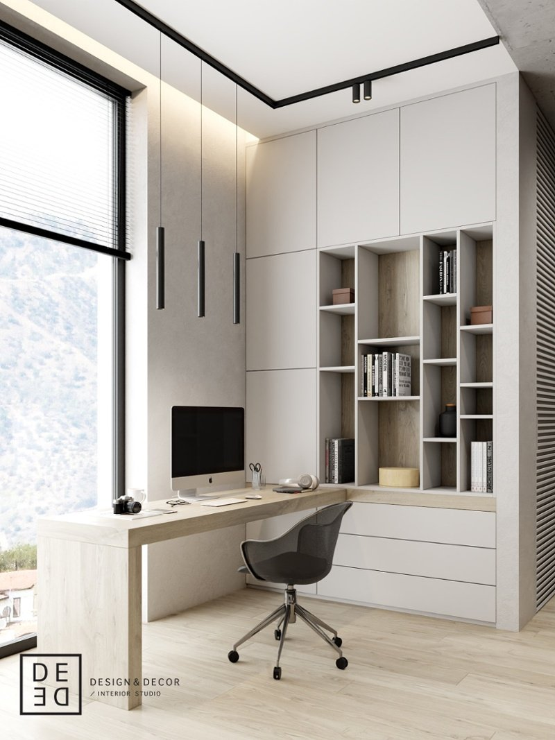 20 Home Office Decor Ideas To Inspire Productivity