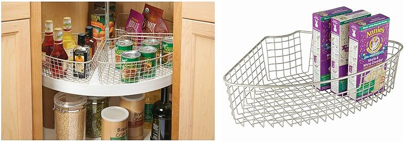 Wire Organizers for Lazy Susan