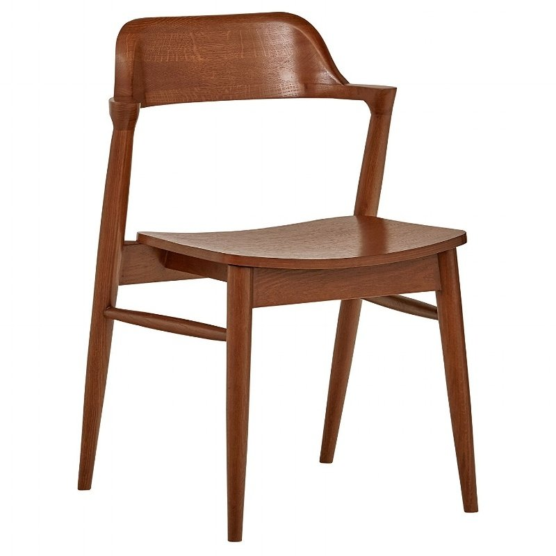 Rivet Mid-Century Modern Low-Back Dining Chair-591683-edited