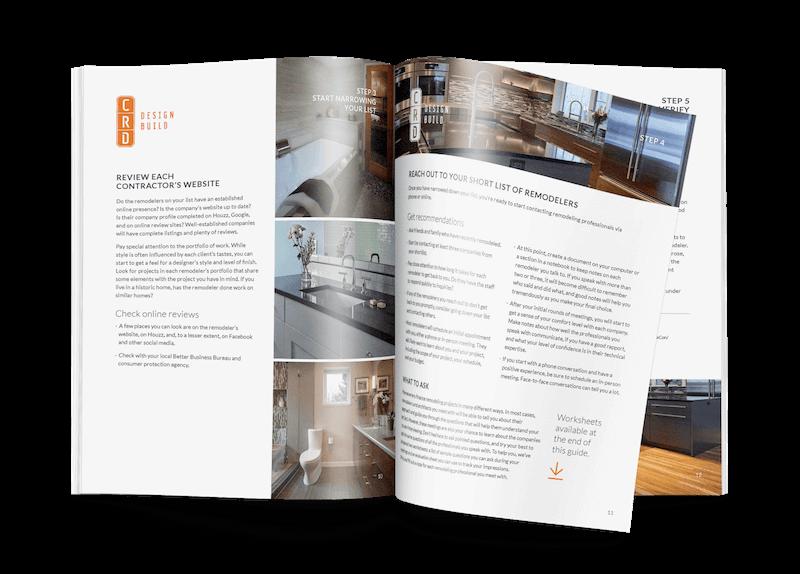 Guide to Hiring a Remodeler | CRD Design Build