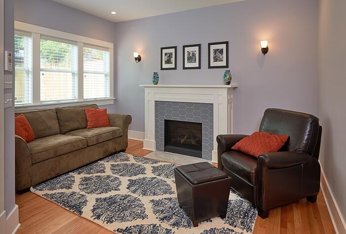 Remodeled Seattle Family Room