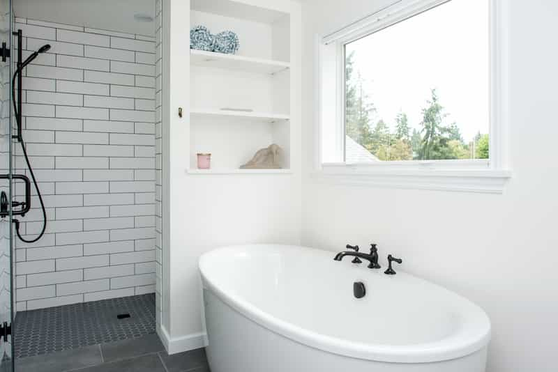 Seattle Remodel Addition Glossy bathroom paint - durable materials
