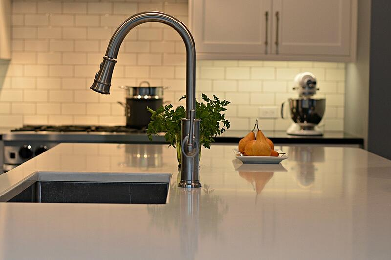 Seattle kitchen quartz countertop