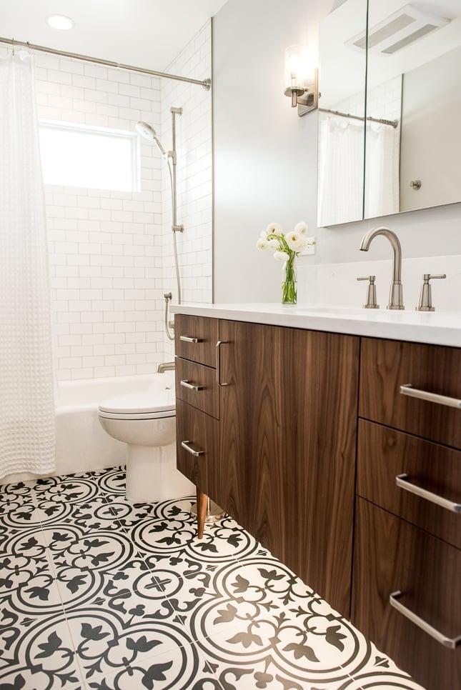 Remodeled Seattle bathroom