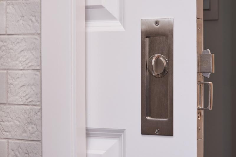 Secure Pocket Door Latch