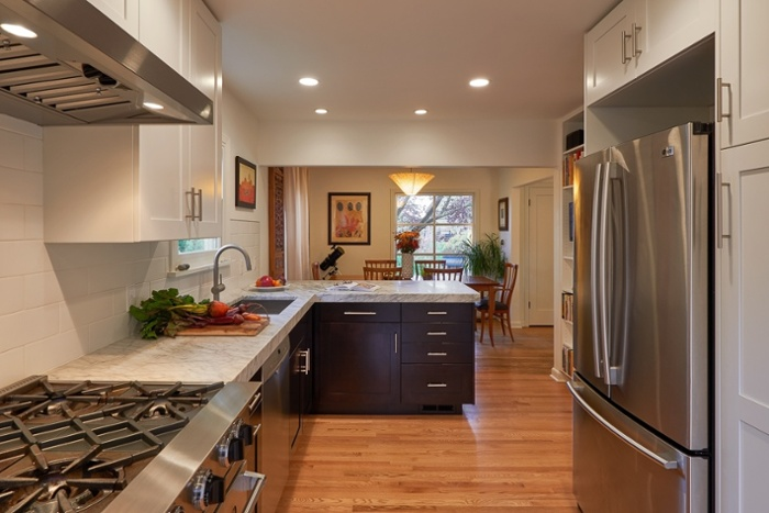 Remodeled Seattle kitchen