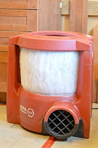 HEPA Air Filter for Seattle Remodeling