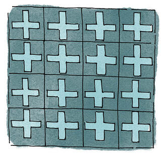 Encaustic Cement Tile Illustration