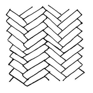Classic Herringbone Tile Pattern
