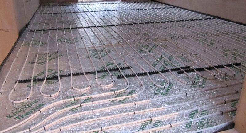 Floor Heating Tubing System