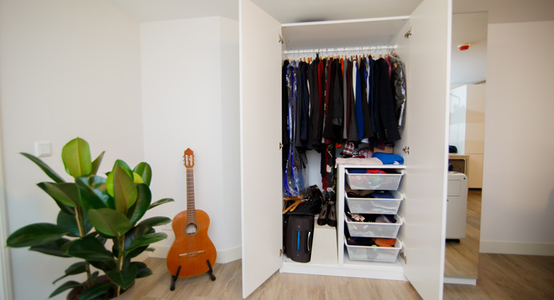 minimum island, closet design, clearance zone, closet depth, dressing room