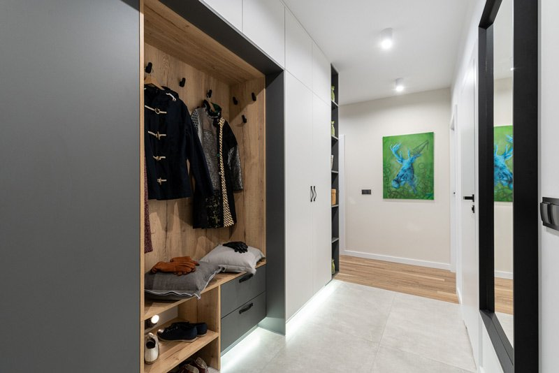 minimum walk spaces, dressing room width, walk-in closet dimensions, island