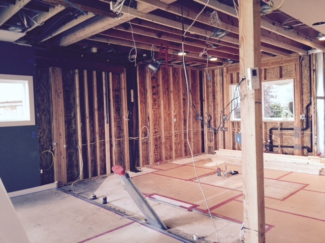 Seattle Remodeling Wall Removal After