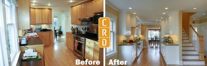 Capitol Hill Seattle Kitchen Remodel Before and After