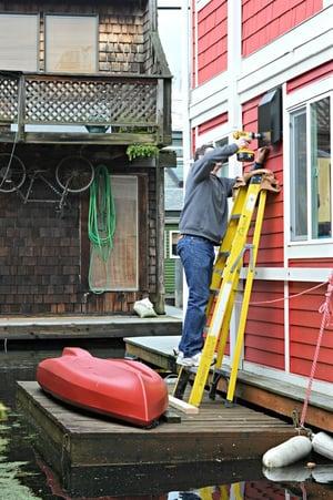 Seattle Houseboat Renovation