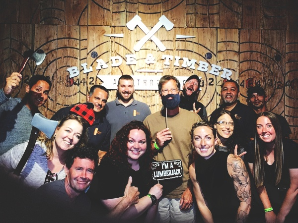 Blade and Timber Ax Throwing photo booth-1